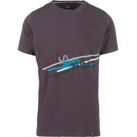 La Sportiva Stripe 2.0 T-Shirt Men Carbon/Cloud